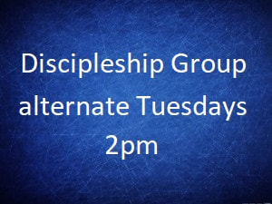 Study Groups: Tues 6:30pm, Thu 2pm
